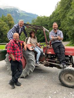 Salzgeber mit Gölä, Trauffer und Melanie Oesch