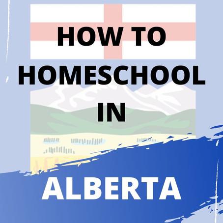 Homeschooling in Alberta: How to Get Started