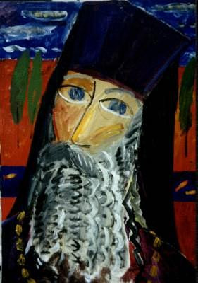 Portrait of father Alexandr
