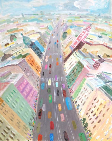 Nevsky prospect. Saint-Petersburg.