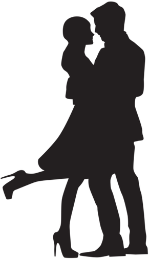 Couple_in_Love_Silhouette_PNG_Clip_Art.p