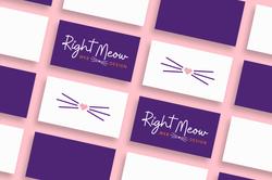 Right-Meow-Web-Design-logo-icon-mockup