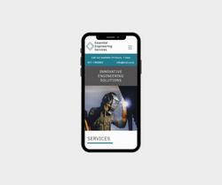 Mobile optimised website design & SEO