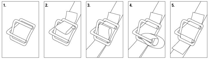How to Thread a Buckle