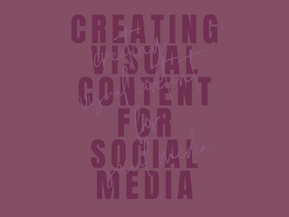 Creating Visual Content for Social Media
