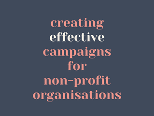 Creating Effective Campaigns for Non-Profit Organisations