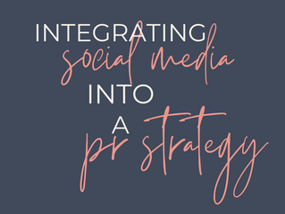 Integrating Social Media Into A PR Strategy
