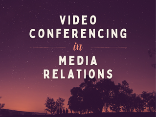 Video Conferencing in Media Relations