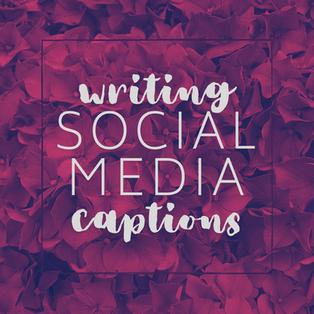 10. 19 Oct - writing social media captio