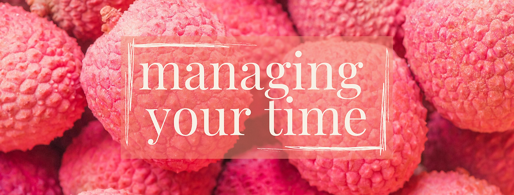 12 Tips For Time Management on PR podcast