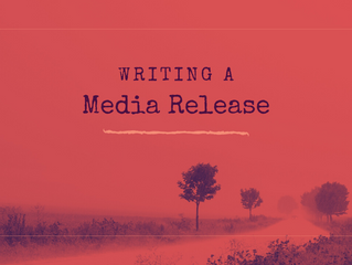 Writing a Media Release