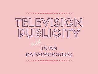 Television Publicity | Jo'an Papadopoulos - Head of Publicity, SBS