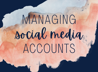 Managing Social Media Accounts