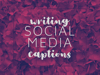 8 Tips For Writing Social Media Captions