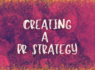 Creating a PR Strategy