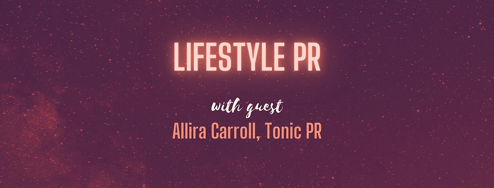 Working At A Lifestyle PR Agency on PR podcast