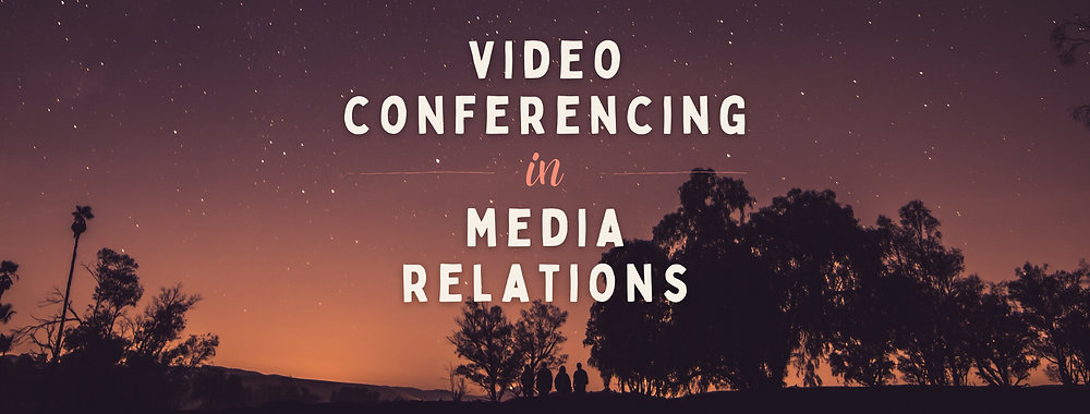 Using Video Conferencing In A PR Campaign on PR podcast