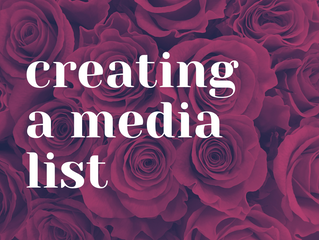 Tips For Creating A Media List