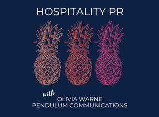 Hospitality PR | Olivia Warne - Founder, Pendulum Communications
