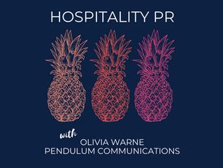 Hospitality PR | Olivia Warne - Founder, Pendulum Communications