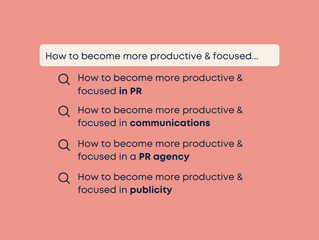 Become More Productive & Focused