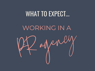 What To Expect Working In A PR Agency