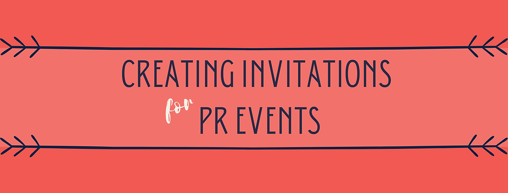 Tips On Creating Invitations For PR Events for PR podcast
