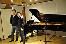 Johan Schmidt et Gabriel Teclu