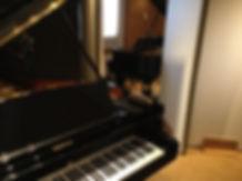 Studio B (Steinway et Yamaha)