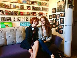 Julie et Camille BERTHOLLET au Recital Studios