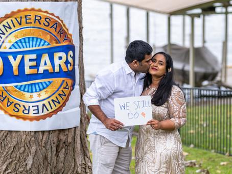 Harini & Praneeth 10 Year Anniversary