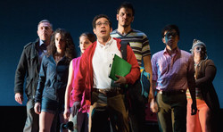 The cast of the NYMF production