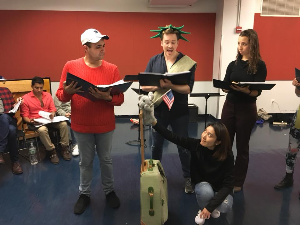 The Gallery Players Workshop cast 2018