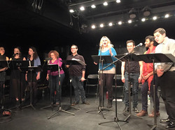 The cast of the Princeton Reading 2016
