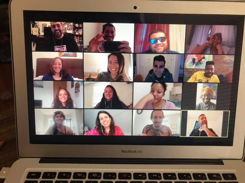 meeting virtually during Quarantine