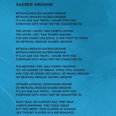Sacred Ground Lyrics