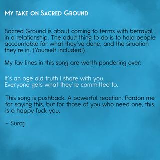 Sacred Ground Insight