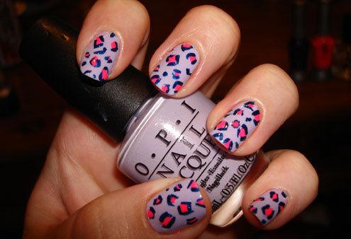 Intricate Nail Design