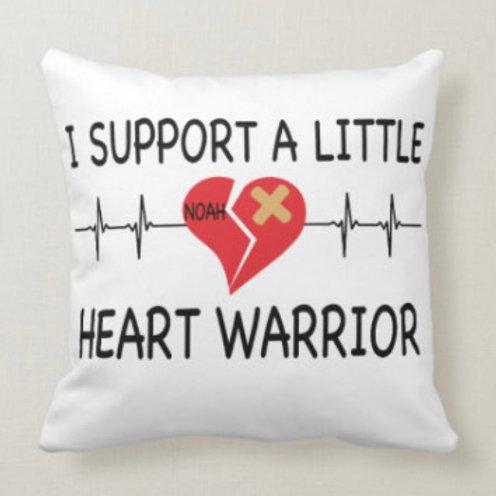Heart Warrior Pillow