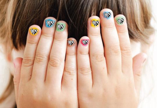 Kids Manicure (2-8 yrs old)