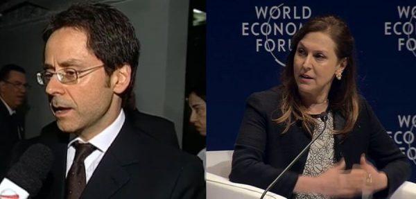 Luiz Frias e Maria Cristina Frias: irmãos em conflito.