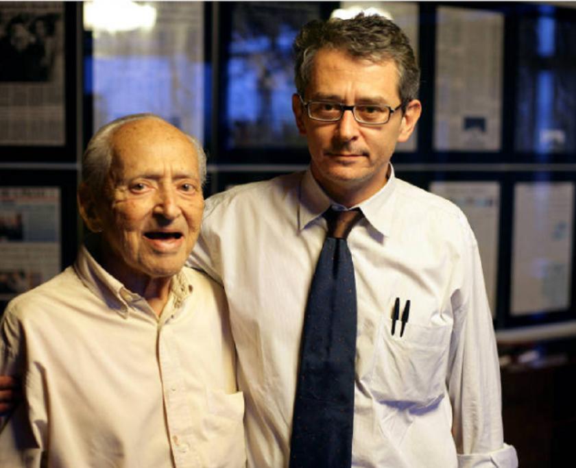 Octávio Frias de Oliveira (1912-2007) e Otávio Frias Filho (1957-2018)