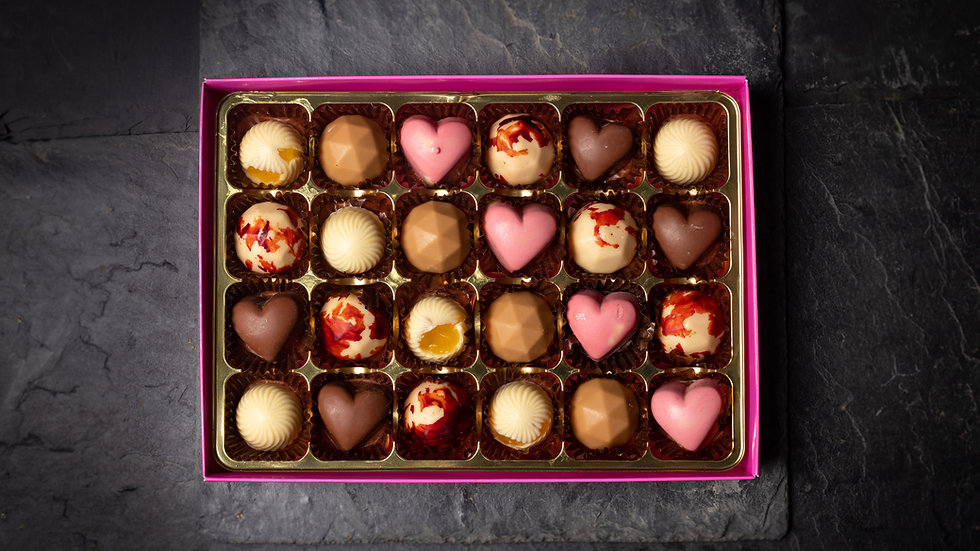 The Ultimate Harrison Chocolate box of 24