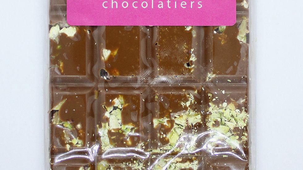 Milk Chocolate and Pistachio