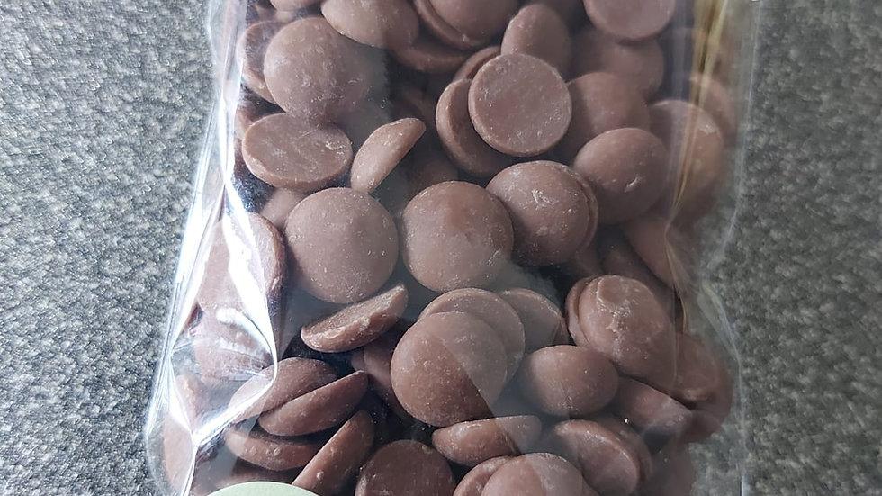 Milk Chocolate Callebaut callets 125g Bag