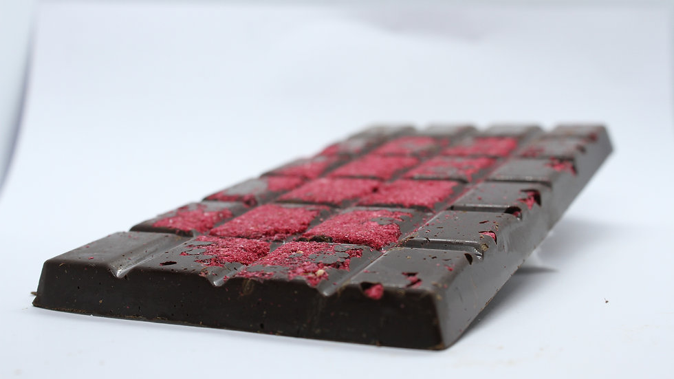 Raspberry Dark 70.5% coca