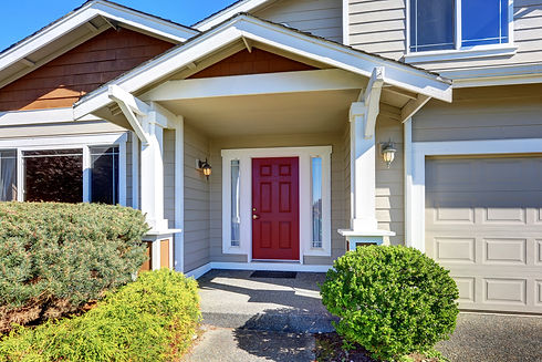 069875296-entrance-porch-red-front-door-
