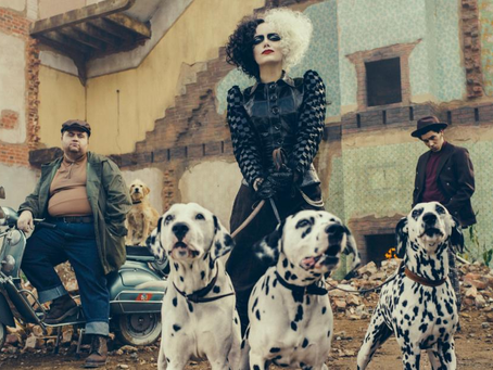 "Disney Releases First Trailer for ""Cruella"" Starring Emma Stone"
