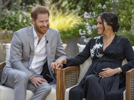 Harry & Meghan Sit Down with Oprah for Interview