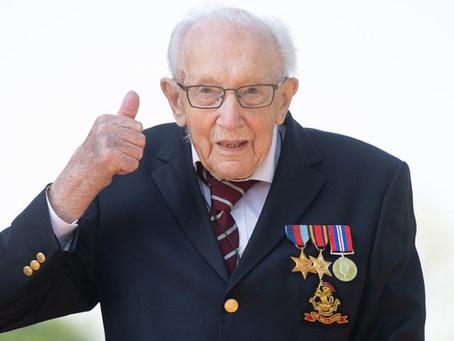 Captain Sir Thomas Moore, Fundraising Hero, Passes Away at 100 Years Old